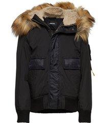 jburke jacket gevoerd jack zwart diesel