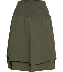 nubrylie balenore skirt kort kjol grön nümph