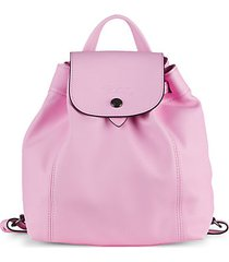 le pliage leather backpack