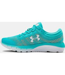 zapatillas running under armour ua charged bandit mujer verde