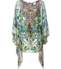 camilla moon garden kaftan dress - multicolour