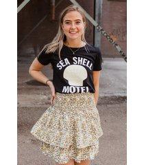 colourful rebel shirt / top zwart 8390
