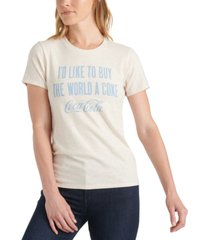 lucky brand buy the world a coke graphic t-shirt