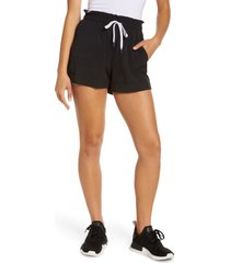 zella camp shorts, size x-large in black at nordstrom