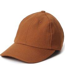 janessa leone jasper baseball cap in rust at nordstrom