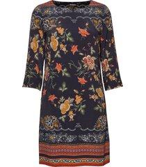 vest praga jurk knielengte multi/patroon desigual