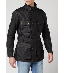 belstaff men's trialmaster jacket - black - it 46/s