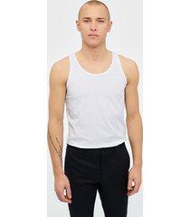 jack & jones basic tank top noos t-shirts & linnen vit
