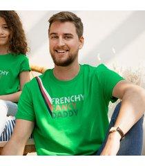 maglietta papà cotone biologico e vegano - frenchy fancy daddy