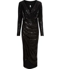 abito di paillettes (nero) - bodyflirt boutique