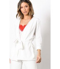 sisters point caddy blazer jackor cream