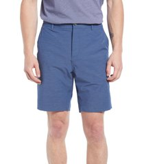 men's faherty all day 9-inch shorts, size 42 - blue