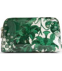 ted baker london rocksi travel pouch, size one size - green