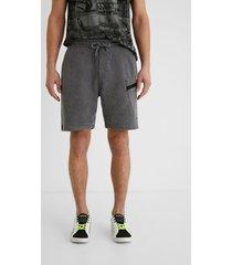 100% cotton short trousers - black - 34