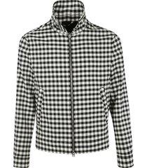 ami alexandre mattiussi checked jacket