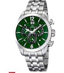 reloj  plateado acamar jaguar