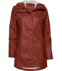 raincoat regenkleding oranje ilse jacobsen