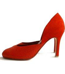 zapato rojo battaglia laguna d'orsay stiletto