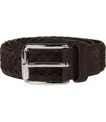 tods braided buckle belt