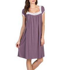 savi mom lacy maternity and nursing nightgown