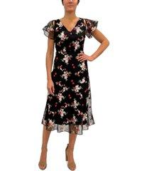 sam edelman embroidered midi dress