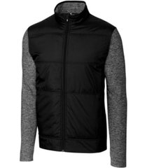 cutter & buck men's big & tall stealth full zip jacket