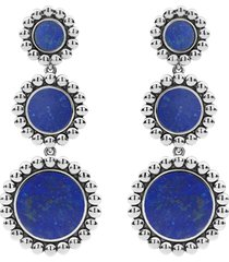 women's lagos maya triple circle drop earrings