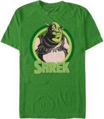 fifth sun shrek men's target portrait short sleeve t-shirt