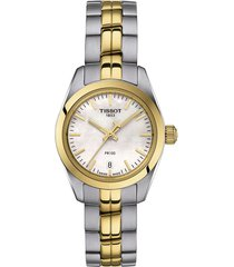 reloj tissot para mujer - pr 100  t101.010.22.111.00