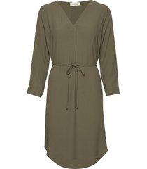 baloo dress knälång klänning grön modström