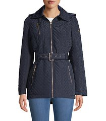missy belted quilted jacket