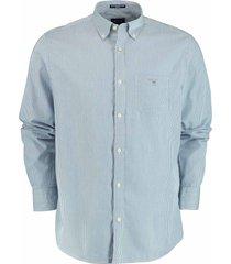 gant overhemd broadcloth blauw rf 3063000/436
