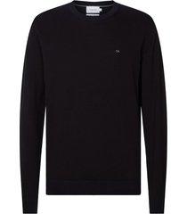 sueter cotton silk c-neck sweater calvin klein