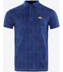 polo shirt korte mouw gabbiano denim 23105 poloshirt cobalt
