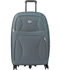 "maleta de viaje grande rock 28"" gris - explora"