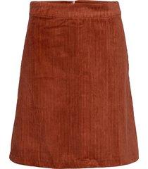 jane skirt knälång kjol röd just female