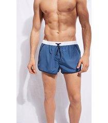calzedonia men's swim trunks venice beach man blue size s