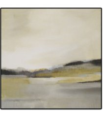 """giant art morning beach oversized framed canvas, 45"""" x 45"""""""
