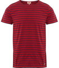 armor lux mariniere heritage t-shirt - acero 73842-adm