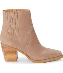 jaide western leather booties