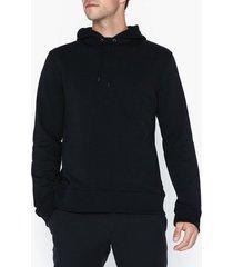 l'homme rouge sturdy hood sweater tröjor black