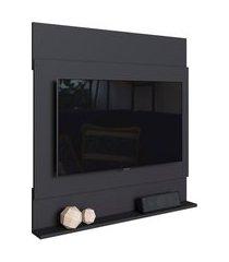painel de parede para tv art in móveis ontário até 36 pol preto