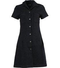 carlotta denim dress black
