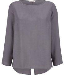 blouse alba moda zilvergrijs