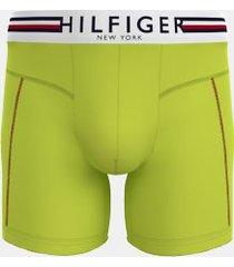 tommy hilfiger men's hilfiger microfiber boxer brief lime - s