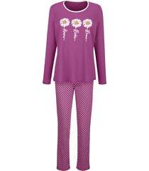 pyjama blue moon fuchsia::wit