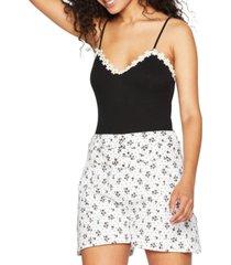 bcbgeneration daisy-trim bodysuit