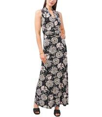 vince camuto batik tie-dyed maxi dress