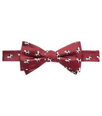 1905 collection cow pattern pre-tied bow tie clearance