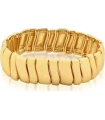 pulseira rincawesky retangulo dourado